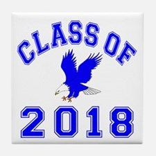 Class Of 2018 Eagle Tile Coaster