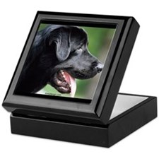 Black Labrador Keepsake Box