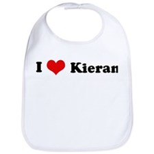 I Love Kieran Bib