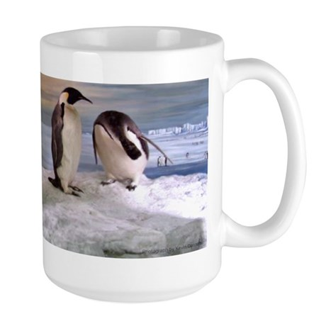 Penguins from Antarctica Large Mug