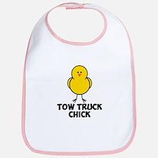 Tow Truck Chick Bib