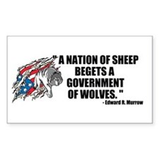 Sheep... Wolves III Decal