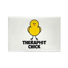 Therapist Chick Rectangle Magnet (100 pack)