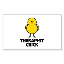 Therapist Chick Decal