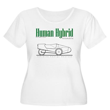 Velomobile Women's Plus Size Scoop Neck T-Shirt