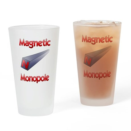 Monopole Drinking Glass