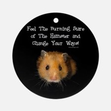 The Hamster Ornament (Round)