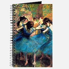 Degas - Blue Dancers 1893 Journal
