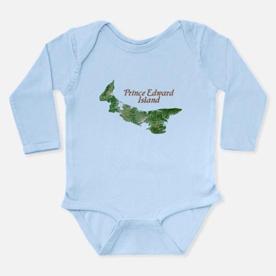 Prince Edward Island Long Sleeve Infant Bodysuit