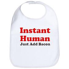 Instant Human Add Bacon Bib