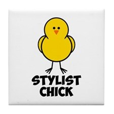 Stylist Chick Tile Coaster
