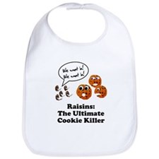 Raisins Cookie Killer Bib