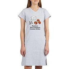 Raisins Cookie Killer Women's Nightshirt
