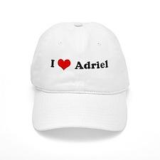I Love Adriel Baseball Baseball Cap