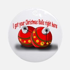 Christmas Balls Ornament (Round)