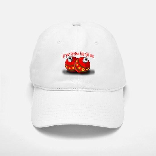 Christmas Balls Cap
