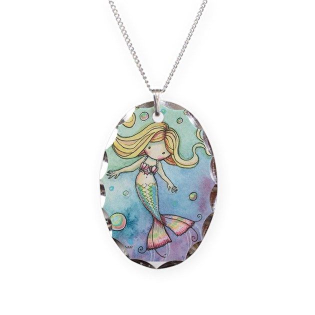 Cute little mermaid pendant necklace by robmolily for Starting a jewelry business in canada