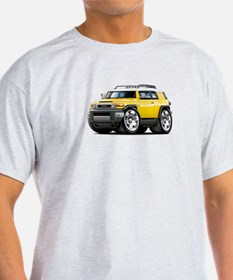 FJ Cruiser Yellow Car T-Shirt