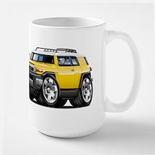 FJ Cruiser Yellow Car Mug