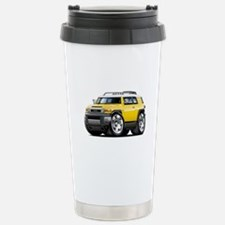 FJ Cruiser Yellow Car Stainless Steel Travel Mug
