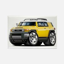 FJ Cruiser Yellow Car Rectangle Magnet