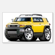 FJ Cruiser Yellow Car Decal