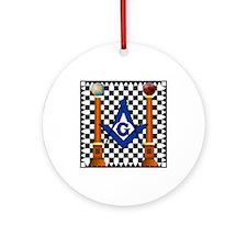 Mosaic Pavement Ornament (Round)