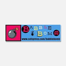 Babble Bomb Car Magnet 10 x 3