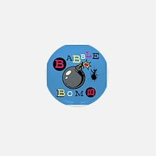 Babble Bomb Mini Button