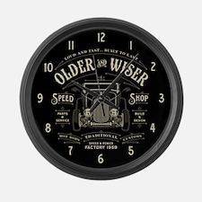 Older & Wiser 002 Large Wall Clock