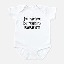 Reading Babbitt Infant Bodysuit
