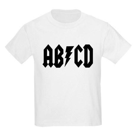 ABCD Rock N Roll Kids Light T-Shirt