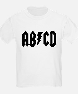 ABCD Rock N Roll T-Shirt