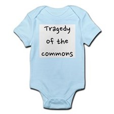 Tragedy of the commons Infant Bodysuit