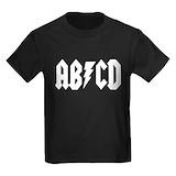 Rock and roll Kids T-shirts (Dark)