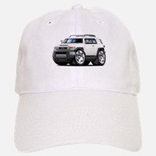 FJ Cruiser White Car Baseball Baseball Cap