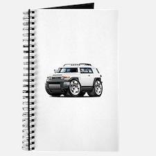 FJ Cruiser White Car Journal