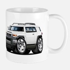 FJ Cruiser White Car Mug