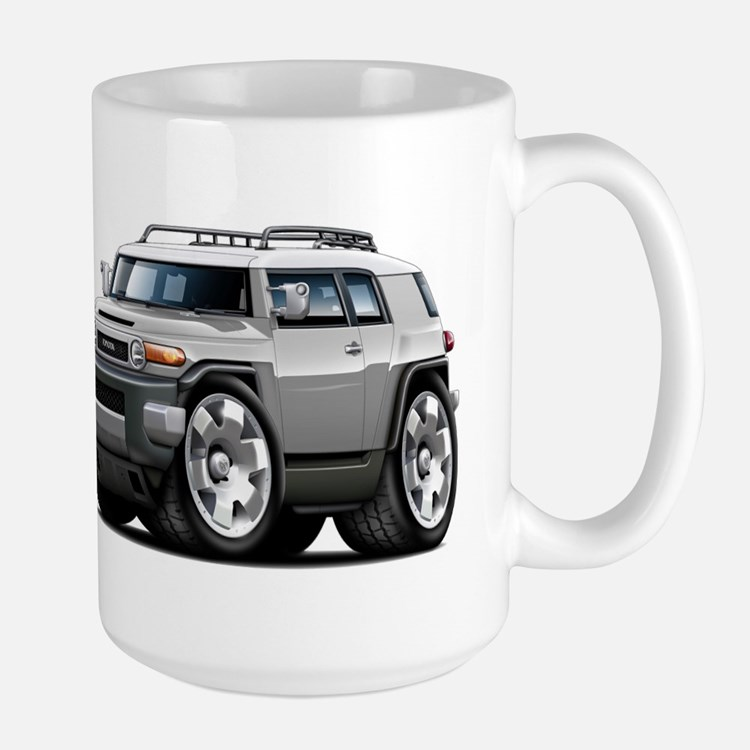FJ Cruiser Silver Car Mug