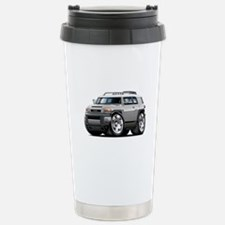 FJ Cruiser Silver Car Stainless Steel Travel Mug