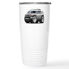 FJ Cruiser Silver Car Travel Coffee Mug