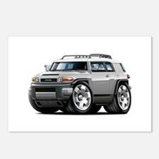 FJ Cruiser Silver Car Postcards (Package of 8)