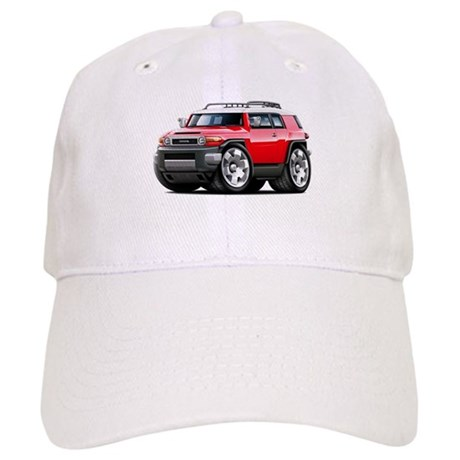 FJ Cruiser Red Car Cap