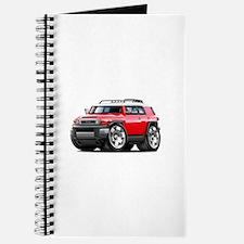 FJ Cruiser Red Car Journal