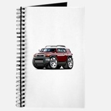 FJ Cruiser Maroon Car Journal