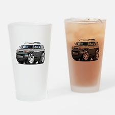 FJ Cruiser Grey Car Drinking Glass