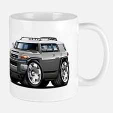 FJ Cruiser Grey Car Mug