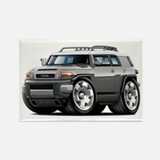 FJ Cruiser Grey Car Rectangle Magnet