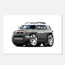 FJ Cruiser Grey Car Postcards (Package of 8)