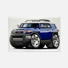 FJ Cruiser Dark Blue Car Rectangle Magnet